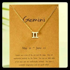 Jewelry - ♊Gemini Zodiac Sign Necklace♊